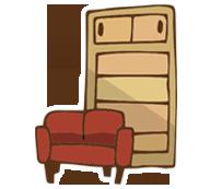 家具を移動したい